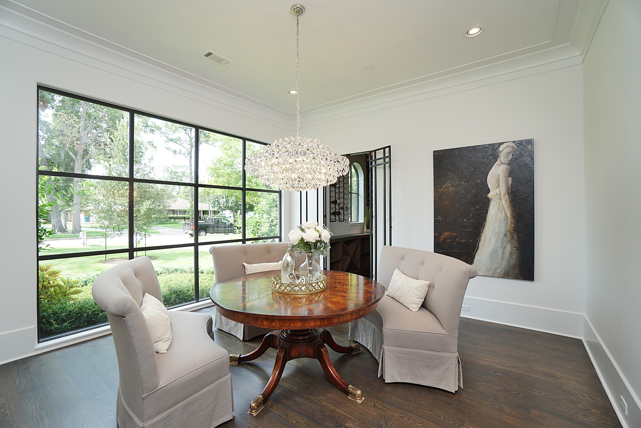 Custom Home Dining Rooms Design By Jeff Paul Homes